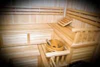 Hote Fantasy. Sauna with jacuzzi