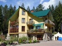 Hotel Carpathian Castle. Welcome!
