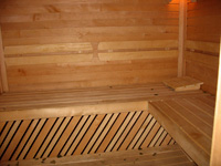 Marzipan. Sauna