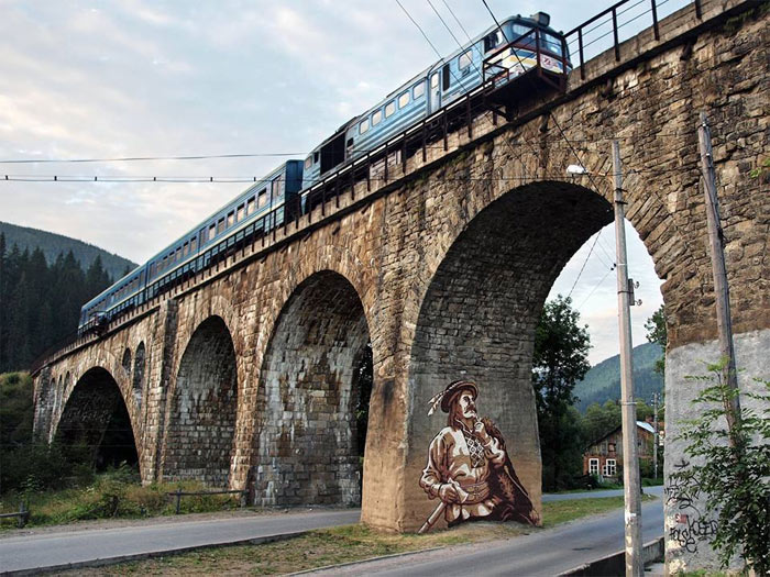 railway bridge vorokhta