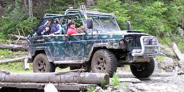 Carpathians jeep tours