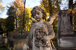 Lychakiv cemetery walking tour