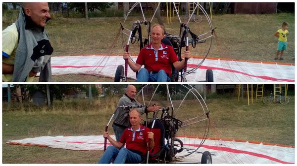 Paragliding carpathians