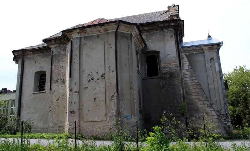 Armenian church Horodenka