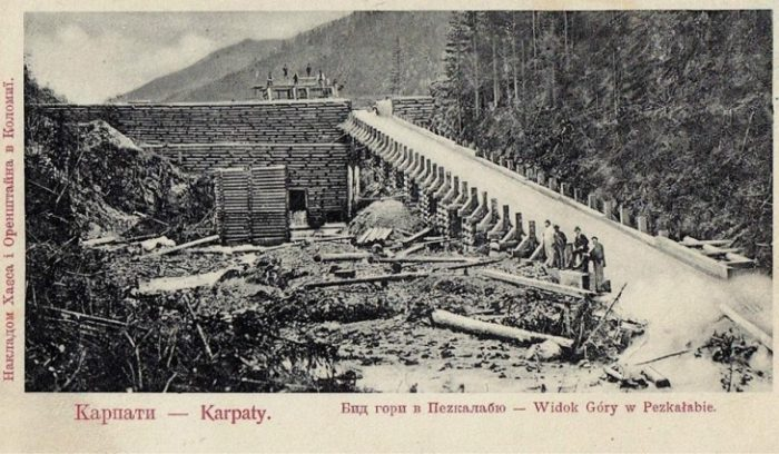 History of forest alloy in Carpathians
