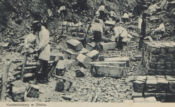 Der Steinbruch in Dilok