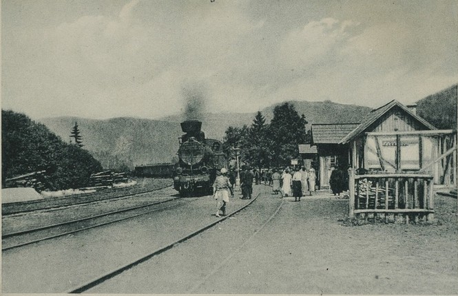 construction of a transcarpathian railway in the Hutsul region